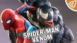 Will the MCU's Spider-Man Be in Venom? (Nerdist News w/ Jessica Chobot)