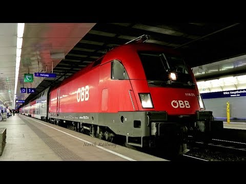 [ÖBB] SIEMENS ES64U2 City Shuttle   Wien Hbf