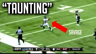 NFL Best Taunting Moments || HD