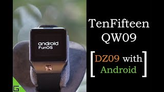 TenFifteen QW09 Android Smartwatch - Cheapest Android Watch [DZ09 with Android] ⌚🔥