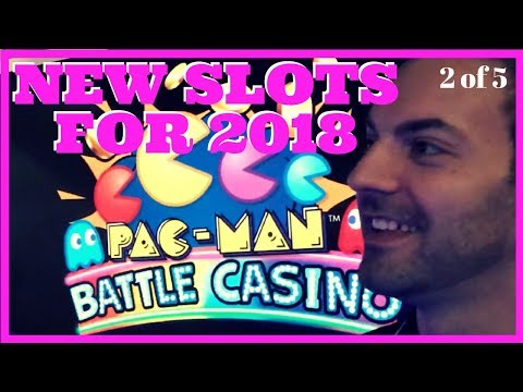 💥 NEW Slots for 2018 ✦ 👰 Madonna + PAC MAN + West World + MORE ✦ Brian Christopher @ G2E HD