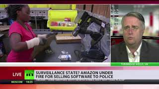 Surveillance state? Amazon under fire for selling software to police