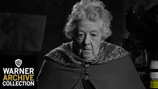 Margaret Rutherford as Miss Marple in MURDER SHE SAID/MURDER MOST FOUL!