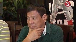 President-elect Duterte, di raw tutol sa pagmimina