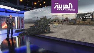مدفعية الشرعية على مشارف صنعاء