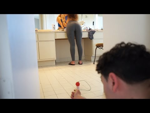 LOUDEST FIREWORKS PRANK ON GIRLFRIEND! (BOYFRIEND PRANKS GIRLFRIEND)