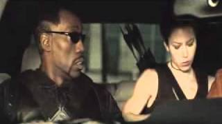 Blade Trinity - ipod scene