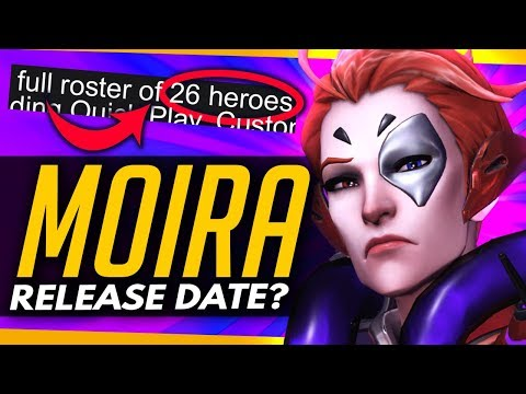 Xxx Mp4 Overwatch MOIRA RELEASE THIS WEEK TONIGHT Free Weekend Details 3gp Sex