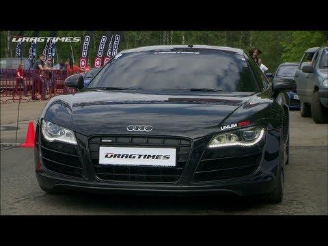 Audi R8 V10 vs Mercedes C63 AMG vs BMW M3 ESS vs Porsche 911 Turbo S