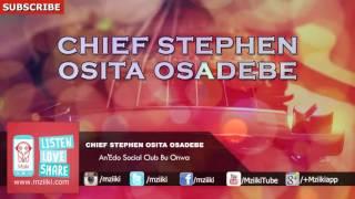 AnEAn'Edo Social Club Bu Onwa | Chief Stephen Osita Osadebe | Official Audio