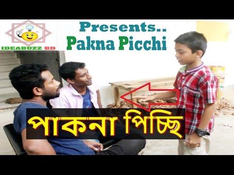 পাকনা পিচ্চি - pakna picchi | Bangla new funny video 2017 | fun video 2017 | Ideabuzz BD