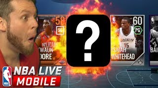 NBA Live Mobile Season 2 is here!! LOOK WHAT I PULLED!