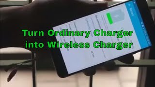 Make Wireless Charger at Home (@ 50 RS)