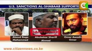 US Blacklists Al-Shabaab Sympathizers