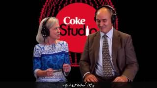 Americans watch coke studio pakistan