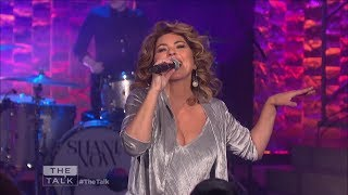 Shania Twain - That Don't Impress Me Much - The Talk - Oct 25, 2017