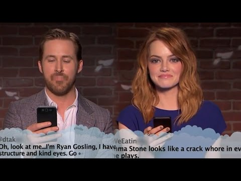 Download Jimmy Kimmel Brings Mean Tweets To The Oscars With Ryan Gosling & Emma Stone