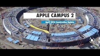 Apple Campus 2: April 2016 Construction Update