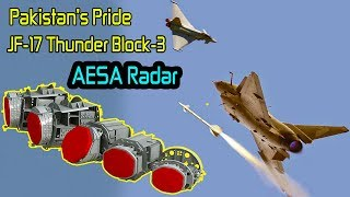 AESA Radar of JF-17 Thunder Block-3 | Pak Air Force's Pride JF-17 Block-3