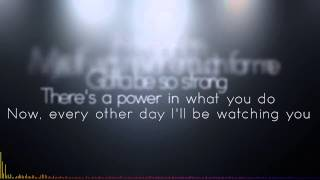 Calvin Harris   Outside ft Ellie Goulding Lyrics On Screen