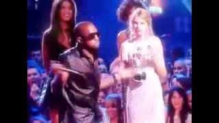 Kanye West interrompe Taylor Swift no VMA 2009