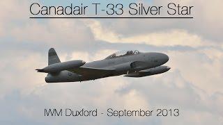 Canadair T-33 Silver Star - Duxford September 2013