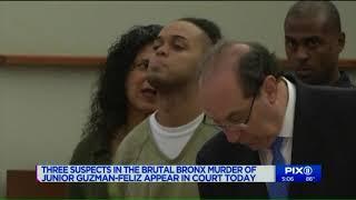 3 suspects in Bronx murder of `Junior` Guzman-Feliz appear in court