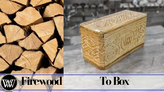 Making a Box With Fire Wood | Artistic Edit