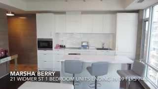 Marsha Berry Toronto Condos 21 Widmer St Cinema Towers 1 Bedroom Units Ending In 09 Flrs 6-43