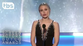 Kristen Bell: Opening Monologue   24th Annual SAG Awards   TBS