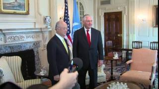 Secretary Tillerson Meets IAEA Director General Yukiya Amano