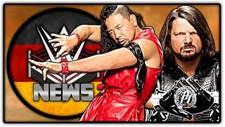 AJ Styles: Staredown mit Nakamura war spontane Idee! Patron-Update (Wrestling News Deutsch/German)