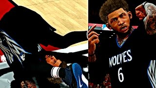 CAM LOOKING FOR REVENGE AFTER MISSING A GAME WINNER IN GAME 3! - NBA 2K17 MyCAREER Playoffs CFG4