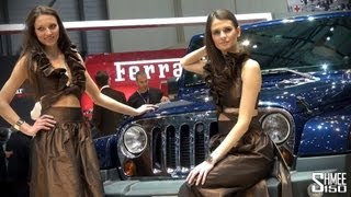 GIRLS of the 2013 Geneva Motor Show