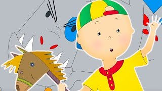Caillou and the Dragon | Funny Animated cartoons Kids | WATCH ONLINE | Cartoon for Children