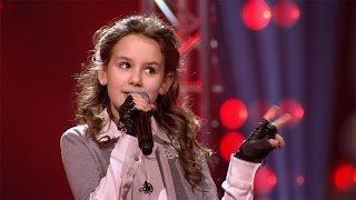 Juliette - 'Fight Song'   Blind Auditions   The Voice Kids   VTM