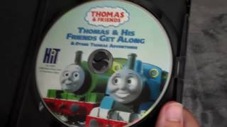 Thomas and Friends Home Media Reviews Episode 20.1 - Thomas and His Friends Get Along on DVD