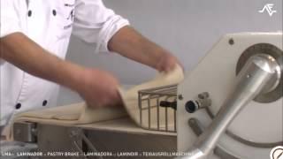 Laminoirs de pâte - LMA: boulangerie et pâtisserie industriel
