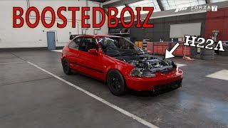 Forza 7 Mods: RE-CREATION OF *BoostedBoiz* HATCH