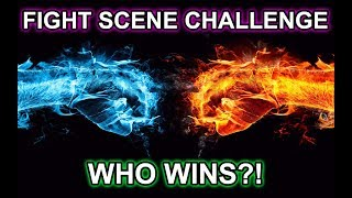 FIGHT SCENE CHALLENGE RESULTS! (Top 5 and feedback for all 18) Hollywood Stuntmen Judges