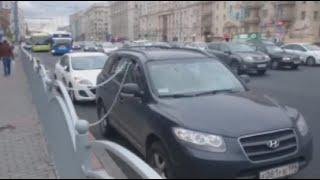 Шедевр автоугонки  Суперсовременная защита от евакуатора