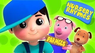Farmees Cartoons For Toddlers | Nursery Rhymes | Live Stream