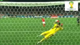 ركلات ترجيح الارجنتين وهولندا كاس العالم 2014 | HD