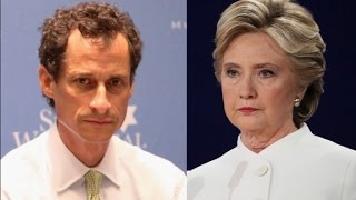 New Trump ad links Clinton to Weiner