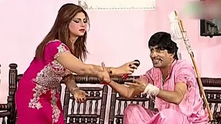 Best Of Mahnoor and Akram Udass New Pakistani Stage Drama Full Comedy Clip