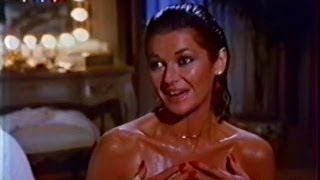 Charming mom Stephanie Beacham with sexy long nails in the series The Colbys 1985--1987