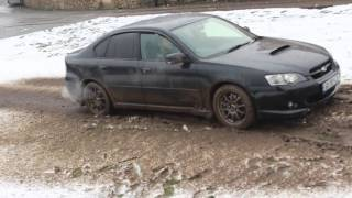 Subaru legacy off road