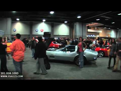 2011 DC Int l Auto Show walkthrough with Tony Fleming of Flemings Ultimate Garage