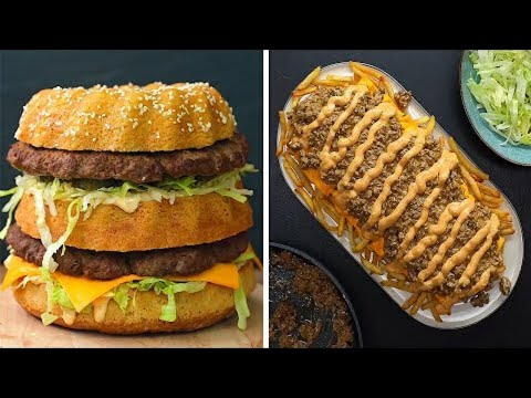 8 Big Mac Inspired Recipes Fast Food Favorites Twisted