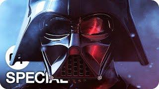 Star Wars Episode 1-8 Alle Trailer German Deutsch (1977-2017)